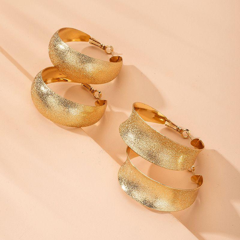 Retro fashion geometric big alloy earrings hotsaling wholesale NHAI248049