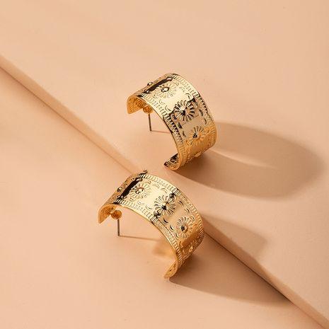 Vintage fashion Bohemian style alloy Hoop Earrings for women NHAI248058's discount tags