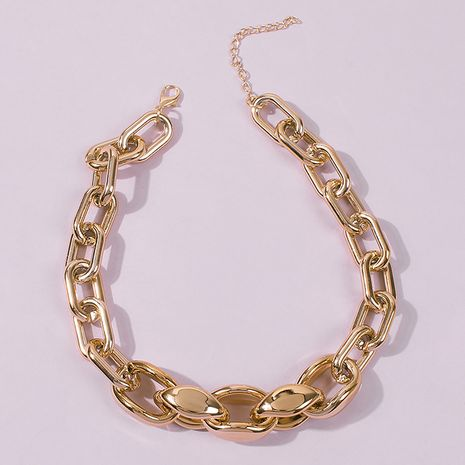 Fashion exaggerated punk hip hop style chain necklace for women NHMD248188's discount tags