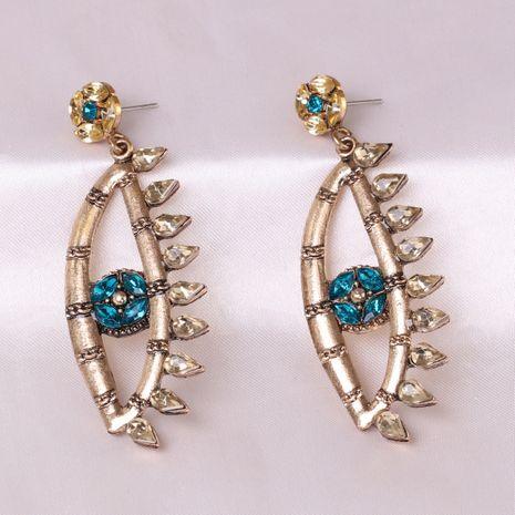 boucles d'oreilles de mode pour femmes micro diamant oeil du diable en gros NHJJ248120's discount tags