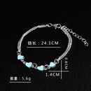 new hearttoheart loveshaped heart luminous ladies trendy bracelets jewelry wholesale NHCU248254