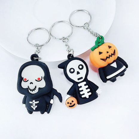 soft rubber Halloween ghost festival girl bag car ornaments children's toys keychain pendant  NHAP248308's discount tags