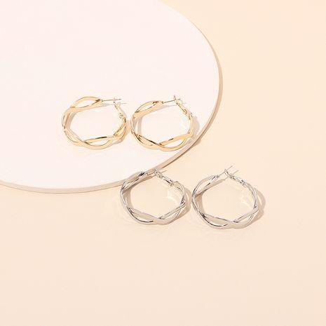nouvelles dames boucles d'oreilles géométriques grand cercle en gros nihaojewelry NHRN248348's discount tags
