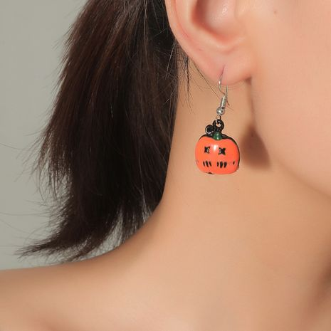 Tendance simple à la mode Halloween citrouille vente chaude de jolies boucles d'oreilles all-match NHKQ248397's discount tags