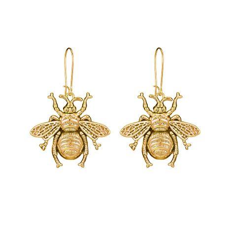 nouvelle oreille bijoux alliage rétro insectes abeilles boucles d'oreilles en gros nihaojewelry NHOA248417's discount tags