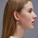 new creative plant hollow cactus earrings wholesale nihaojewelry NHMO248487
