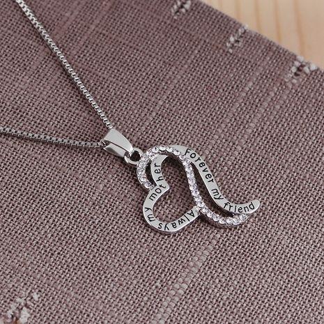 neue einfache mehrschichtige Liebe Muttertag Geschenk Halskette Pullover Kette Zubehör NHMO248503's discount tags