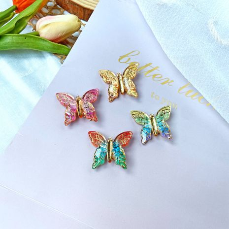 sweet butterfly hairpin nostalgic Chinese style purple girl hair accessories wholesale NHPJ248562's discount tags