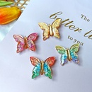 sweet butterfly hairpin nostalgic Chinese style purple girl hair accessories wholesale NHPJ248562