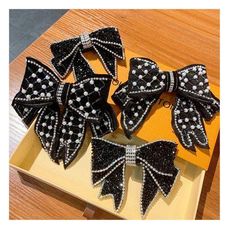 perle big bow épingle à cheveux en gros nihaojewelry NHHD248680's discount tags