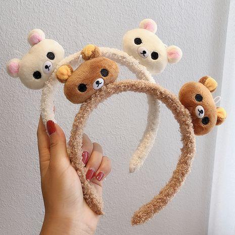 El nuevo oso de Corea, las niñas de peluche, divertidas, sombreros, horquillas para el cabello, prensa de horquilla NHCQ248878's discount tags