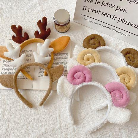 Corea nueva horquilla de diadema antideslizante dulce linda salvaje simple para las mujeres NHCQ248880's discount tags