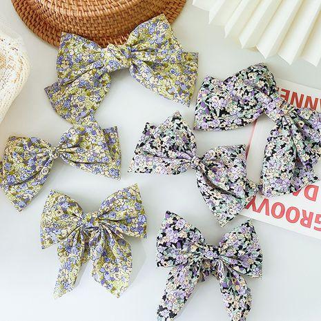 nouvelle épingle à cheveux noeud plat floral en gros NHCQ248903's discount tags