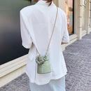 fashion handbags crocodile pattern bucket bag chain messenger single shoulder bag wholesale NHLH249015