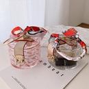 Fashion transparent new Korean fashion silk scarf allmatch retro small round womens handbag NHLH249022