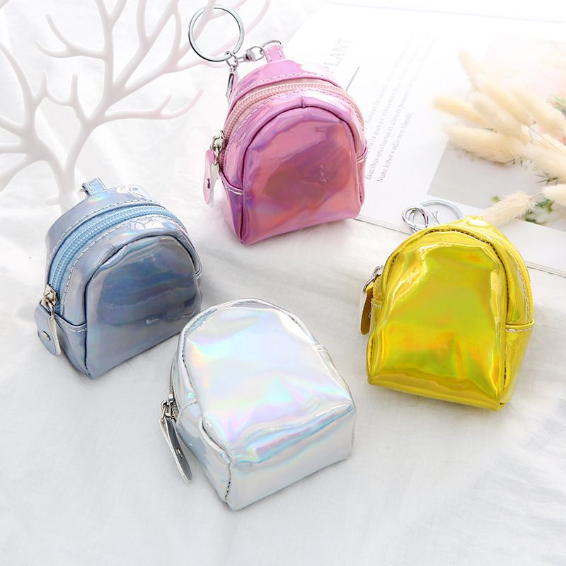 new laser monochrome ladies mini coin purse wallet coin purse small gifts wholesale NHAE249082
