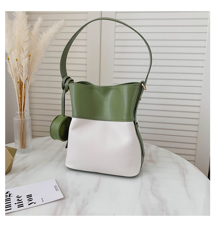fashion summer new retro contrast color texture handbag wholesale NHTC249235