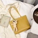 Largecapacity handbags womens fashion allmatch single shoulder texture tote bag wholesale NHTC249239