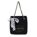 Largecapacity womens popular fashion allmatch shoulder bag sequins messenger bucket handbag wholesale NHTC249265