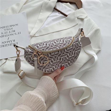 new fashion Korean messenger chest bag popular printing waist bag wholesale NHJZ249427's discount tags
