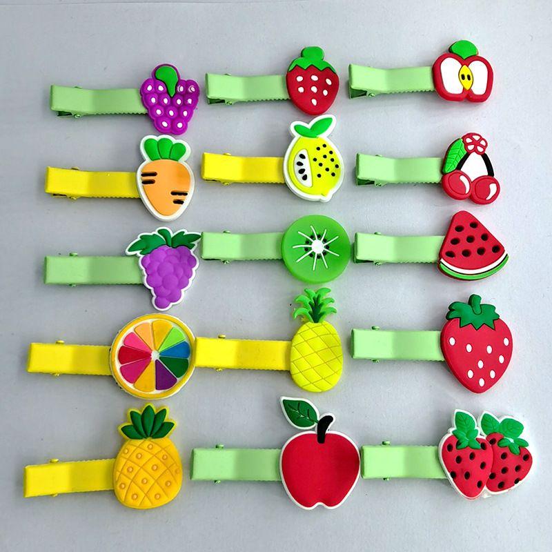 Korean cute fruit girls cartoon headdress side bangs clip  NHDI249443