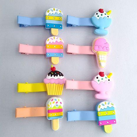Fashion cartoon doll ice cream cute headdress side bangs girls hair clip NHDI249444's discount tags