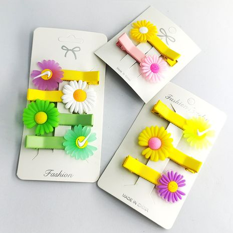 Fashion daisy cute headdress side bangs hair clip girls small hairpin NHDI249446's discount tags