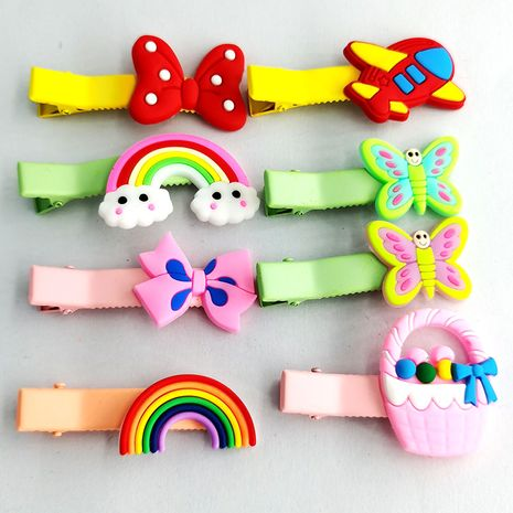 Korean cartoon cute headdress girl small girl side bangs hair clip  NHDI249448's discount tags