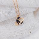 New star moon planet pendant short ochain womens alloy clavicle chain necklace wholesale  NHLJ249487