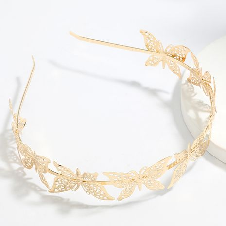 Korean exaggerated multilayer butterfly beautiful headband hair accessories wholesale NHJE249615's discount tags