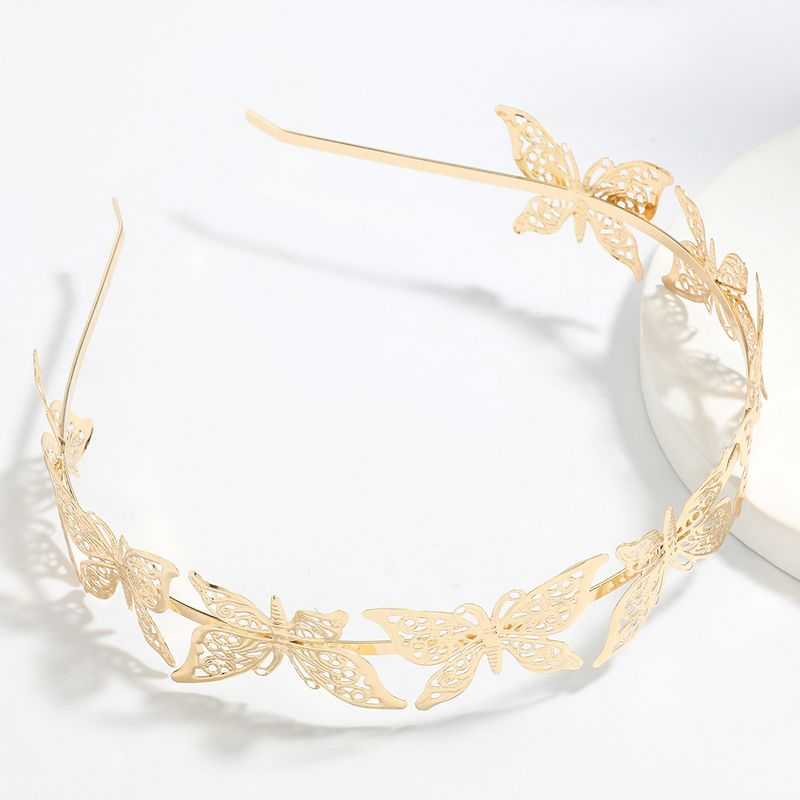 Korean exaggerated multilayer butterfly beautiful headband hair accessories wholesale NHJE249615