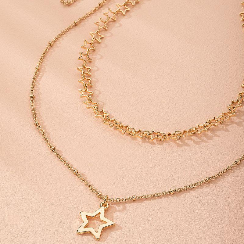 fashion combination stars womens necklace wholesale  NHAI249654