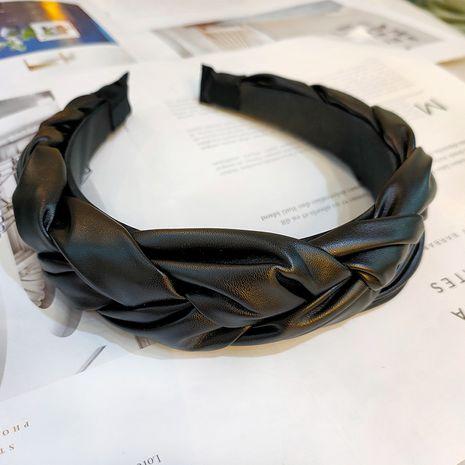 diadema trenzada de cuero de moda simple al por mayor NHUX249727's discount tags