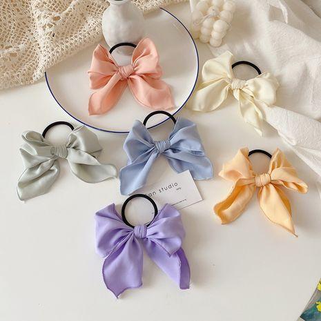 Korean hair circle tie hair bow hair head rope simple headdress wholesale NHCQ249759's discount tags
