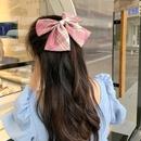 big bow hairpin top clip head hairpin clip headdress wholesale NHCQ249773