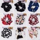 Cravate  cheveux raye  carreaux classique tissu  pois vague gomtrique haute cravate en queue de cheval lastique en gros NHCL249843
