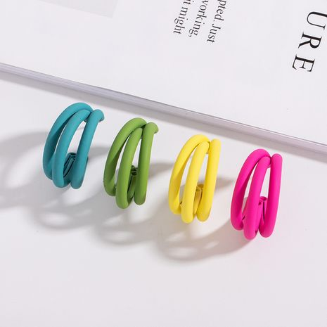 Korean fresh candy color retro small simple and cute earrings wholesale  NHAI250033's discount tags
