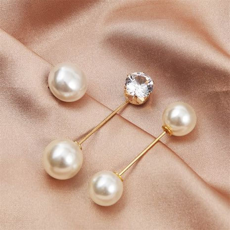 simple cuffs pearl brooch set wholesale NHLA250069's discount tags