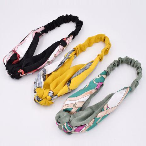 Cinturón bohemio cadena de color a juego diadema cruzada para mujer diadema anudada media al por mayor NHCL250072's discount tags