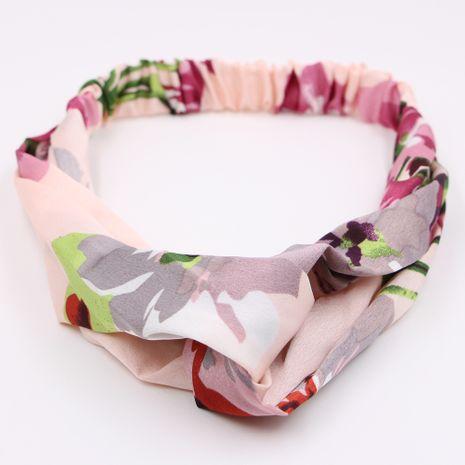 estilo caliente cruz simple elástico floral tela lavado cara paquete al por mayor NHCL250075's discount tags