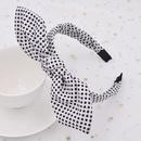 Classic dot headband cute rabbit ears polka dot goddess wash face headband wholesale  NHCL250074
