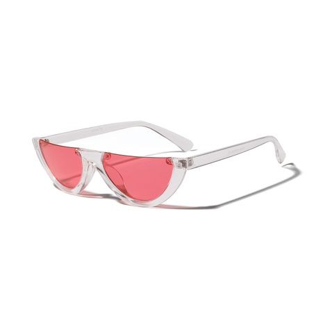 lower half frame color sunglasses popular cat-eye sunglasses wholesale  NHXU250237's discount tags
