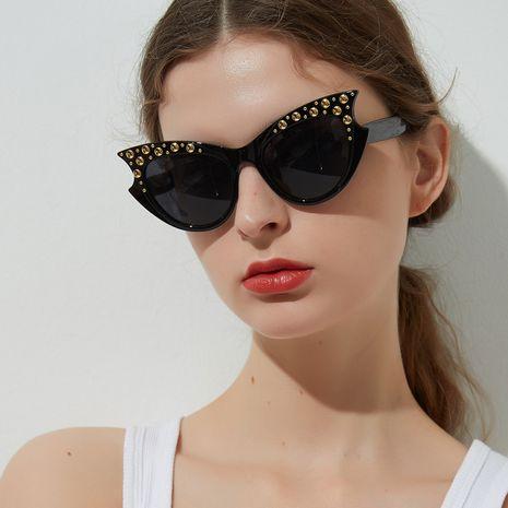 fashion cat eye rivet popular sunglasses wholesale nihaojeweley NHXU250248's discount tags