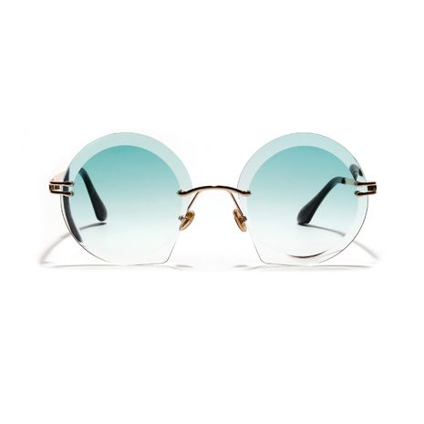 frameless big round cut face retro new sunglasses wholesale  NHXU250257's discount tags