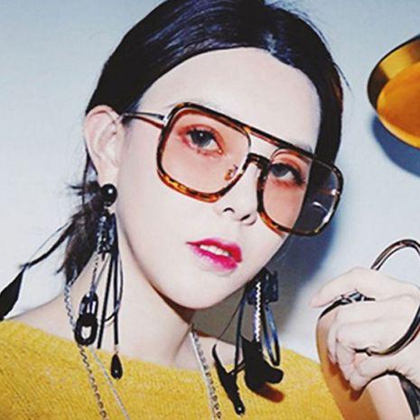 popular big frame square trend hip-hop sunglasses wholesale  NHXU250277's discount tags