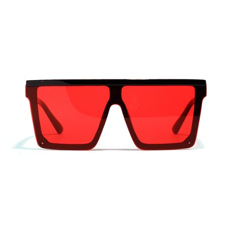 new avant-garde with one-piece lens big box UV protection sunglasses wholesale  NHXU250278's discount tags
