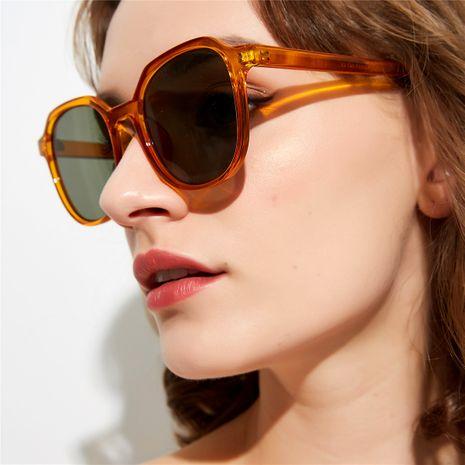 transparent square retro basic glasses anti-UV sunglasses wholesale  NHXU250291's discount tags