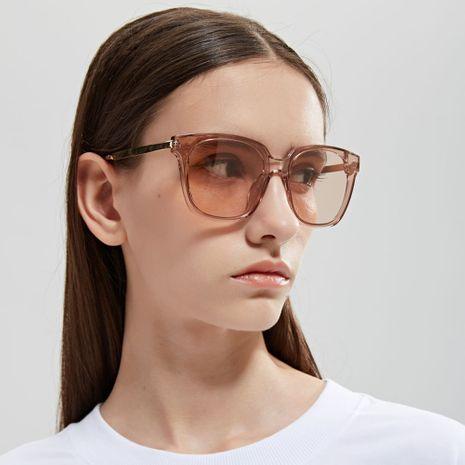 square-frame retro big-frame glasses men fashion sunglasses wholesale  NHXU250296's discount tags