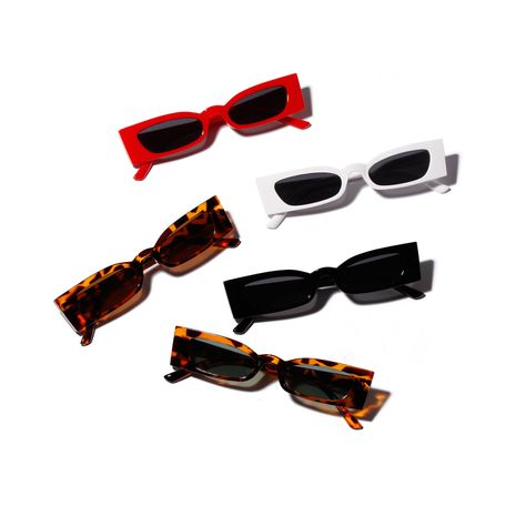 square box small frame hipsters cool sunglasses wholesale nihaojewelry  NHXU250299's discount tags