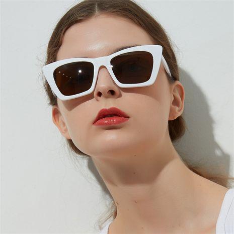 square dazzling color transparent ocean lens popular sunglasses wholesale nihaojewelry  NHXU250302's discount tags